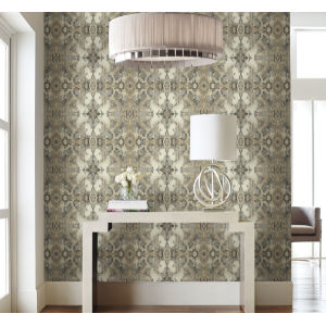 Simply Candice Ivory Inner Beauty Peel and Stick Wallpaper