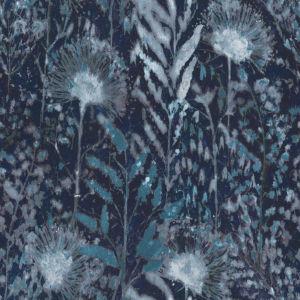 Dandelion Blue Peel and Stick Wallpaper
