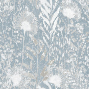 Dandelion White Peel and Stick Wallpaper