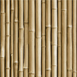 Bamboo Brown Peel And Stick Wallpaper