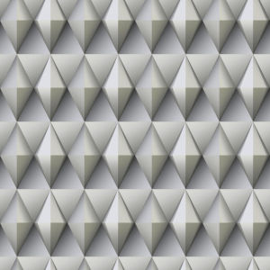 Paragon Geometric Gray And Taupe Peel And Stick Wallpaper