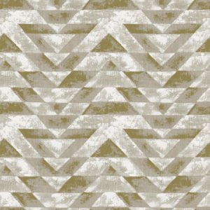 Southwest Geometric Gold And Gray Peel And Stick Wallpaper