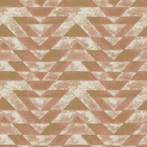 Southwest Geometric Orange And Pink Peel And Stick Wallpaper