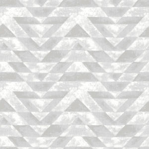 Southwest Geometric Light Gray And White Peel And Stick Wallpaper