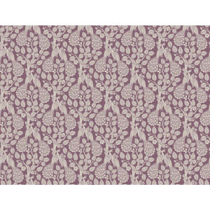 Small Prints Resource Library Purple Two-Inch Plumage Wallpaper