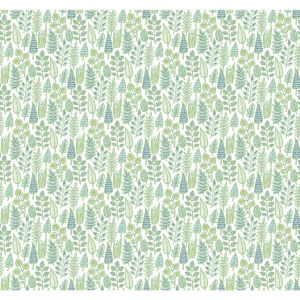 Small Prints Resource Library Green Two-Inch Leaf Life Wallpaper