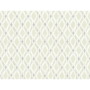 Small Prints Resource Library Beige Two-Inch Dyed Ogee Wallpaper