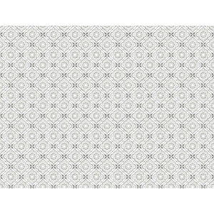 Small Prints Resource Library Gray Two-Inch Zellige Tile Wallpaper