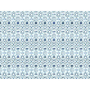 Small Prints Resource Library Blue Two-Inch Zellige Tile Wallpaper