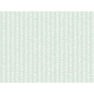 Small Prints Resource Library Mint Green Two-Inch Stacked Stripe Wallpaper
