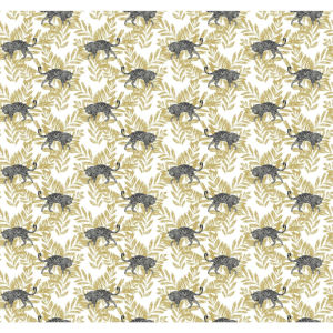Small Prints Resource Library Gold Two-Inch On The Prowl Wallpaper