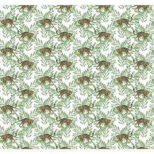 Small Prints Resource Library Green Two-Inch On The Prowl Wallpaper