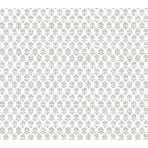 Small Prints Resource Library Neutral Two-Inch Petite Fleur Wallpaper