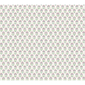 Small Prints Resource Library Pink Two-Inch Petite Fleur Wallpaper
