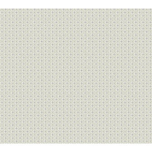 Small Prints Resource Library Tan Two-Inch Circle Mosaic Wallpaper