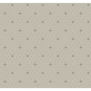 Small Prints Resource Library Tan Two-Inch Stella Star Wallpaper