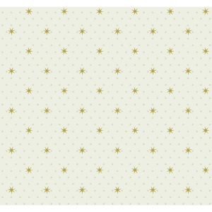 Small Prints Resource Library Off White  Two-Inch Stella Star Wallpaper