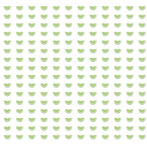 Small Prints Resource Library Green Two-Inch Citrus Party Wallpaper