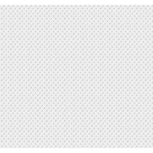 Small Prints Resource Library Gray Two-Inch Wicker Weave Wallpaper