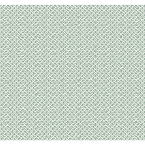 Small Prints Resource Library Green Two-Inch Wicker Weave Wallpaper