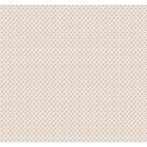 Small Prints Resource Library Pink Two-Inch Wicker Weave Wallpaper