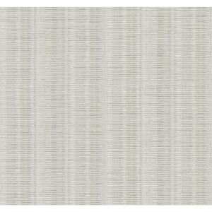 Stripes Resource Library Light Neutral Broken Boucle Stripe Wallpaper