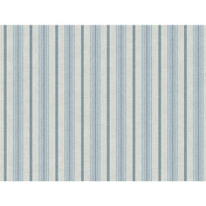 Stripes Resource Library Blue and Putty Shirting Stripe Wallpaper