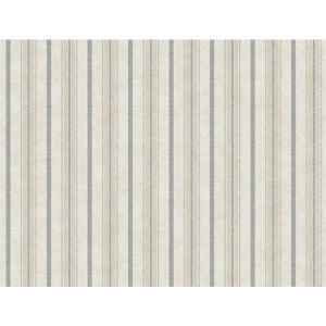 Stripes Resource Library Gray and Cream Shirting Stripe Wallpaper