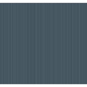 Stripes Resource Library Navy Cascade Stria Wallpaper