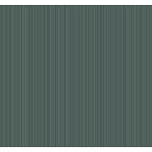 Stripes Resource Library Deep Green Cascade Stria Wallpaper