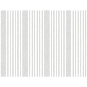 Stripes Resource Library Gray French Linen Stripe Wallpaper