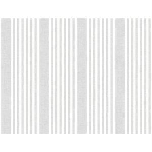 Stripes Resource Library Gray French Linen Stripe Wallpaper