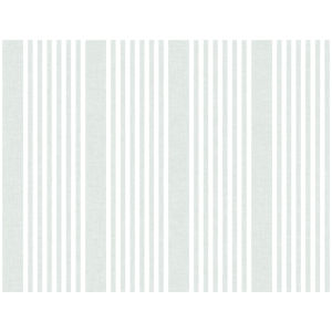 Stripes Resource Library Green French Linen Stripe Wallpaper