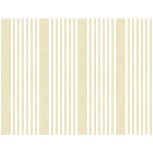 Stripes Resource Library Yellow French Linen Stripe Wallpaper
