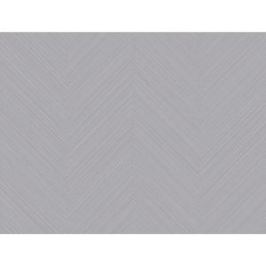 Stripes Resource Library Lavender Gray Swept Chevron Wallpaper