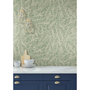 Tropics Green Rainforest Canopy Pre Pasted Wallpaper