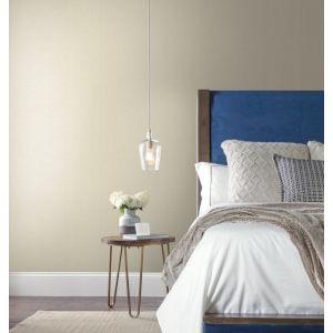 Texture Digest Light Grey Hessian Weave Wallpaper