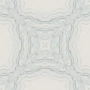 Antonina Vella Natural Opalescence Stone Kaleidoscope Blue Wallpaper