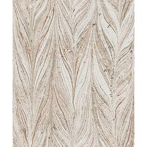 Antonina Vella Natural Opalescence Ebru Marble Sienna Wallpaper
