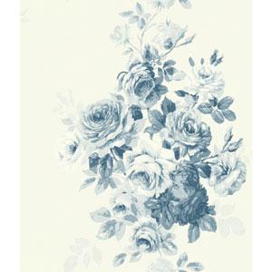 Tea Rose Blue Wallpaper
