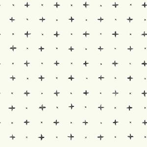 Cross Stitch Black Wallpaper