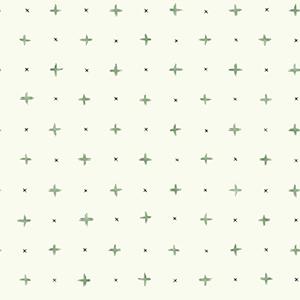 Cross Stitch Green Wallpaper