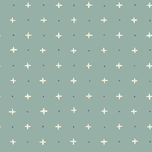 Cross Stitch Green Wallpaper
