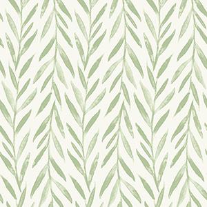 Willow Green Wallpaper