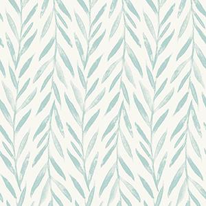 Willow Blue Wallpaper