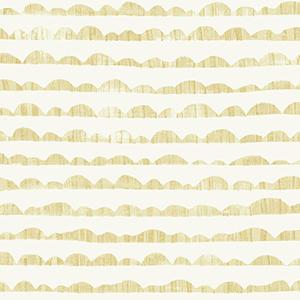 Hill and Horizon Yellow Wallpaper