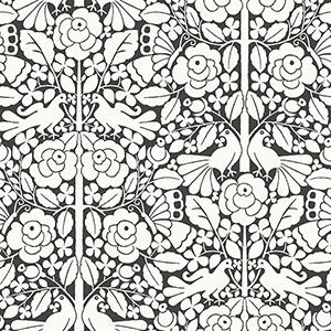 Fairy Tales Black Wallpaper