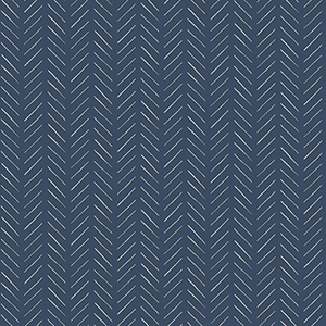 Pick-Up Sticks Blue Wallpaper