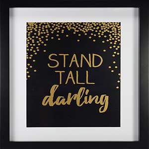 Stand Tall Framed Artwork