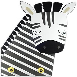 Zebra Knobs Plaque with Knobs